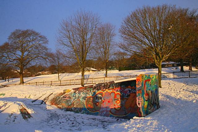 Skate park, Dudhope park - geograph.org.uk - 1170011