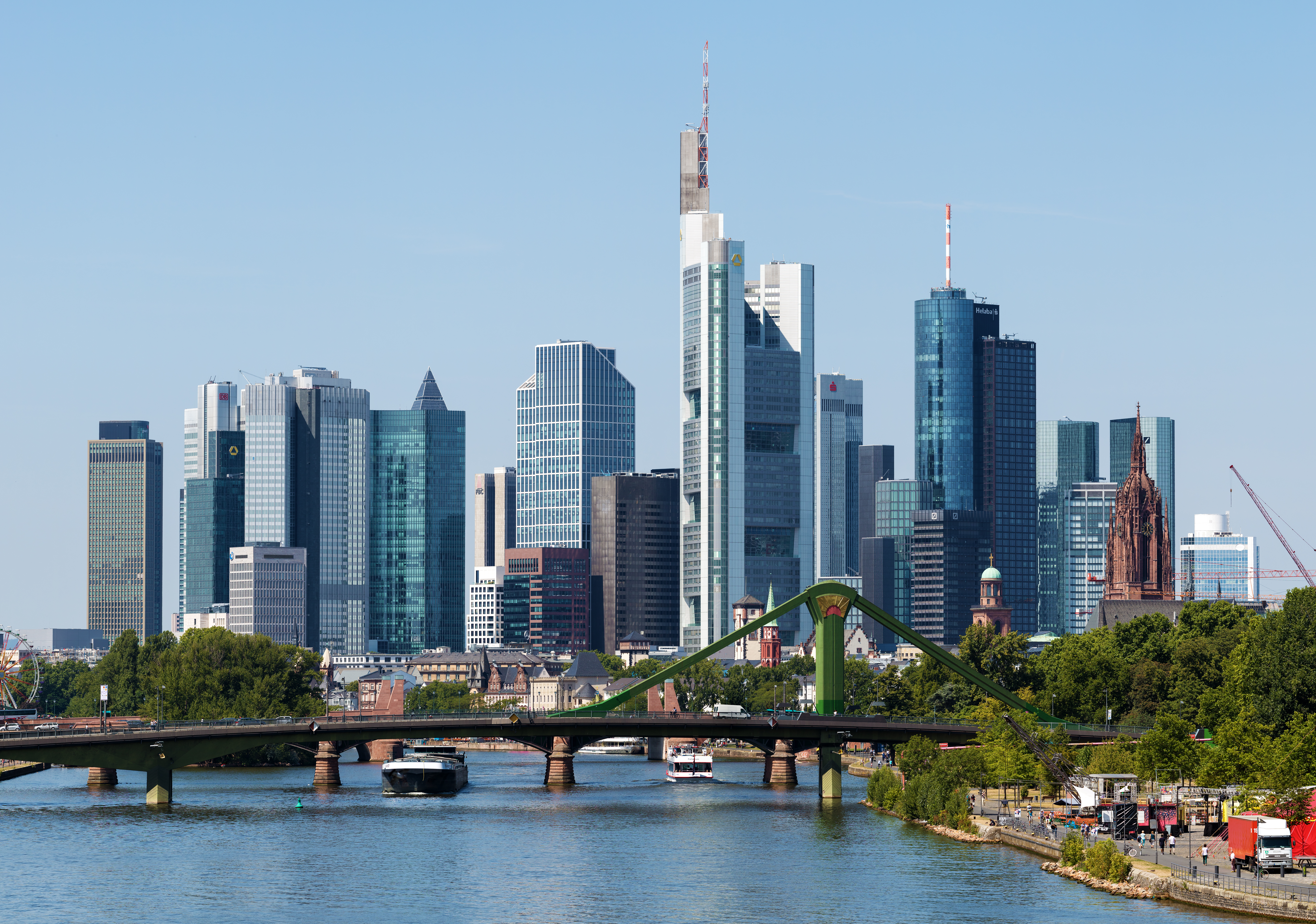 Frankfurt Am-Main Skyline
