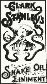 Clark Stanley's Snake Oil Liniment. Before 1920.