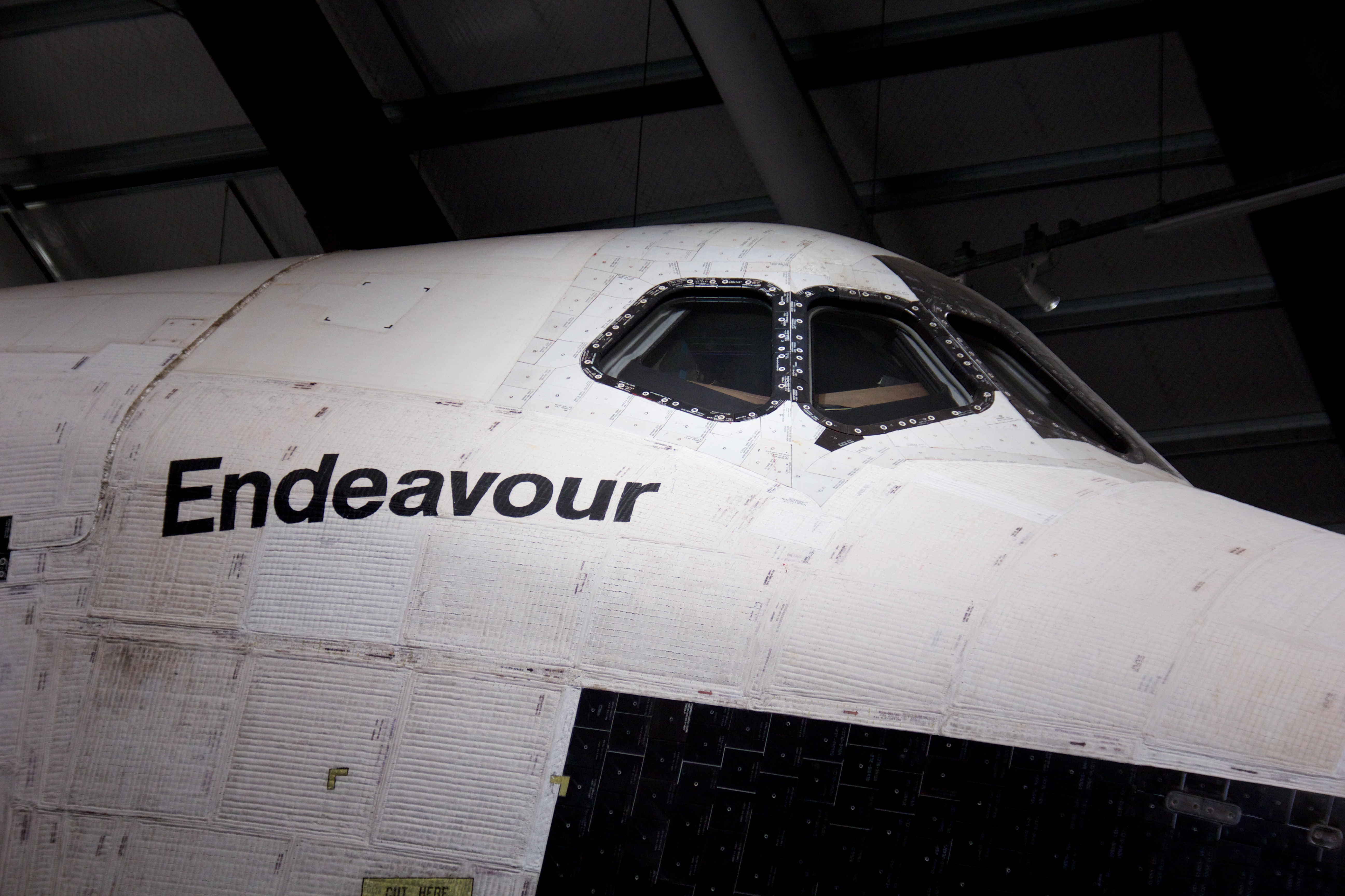 space shuttle endeavour dimensions - photo #4