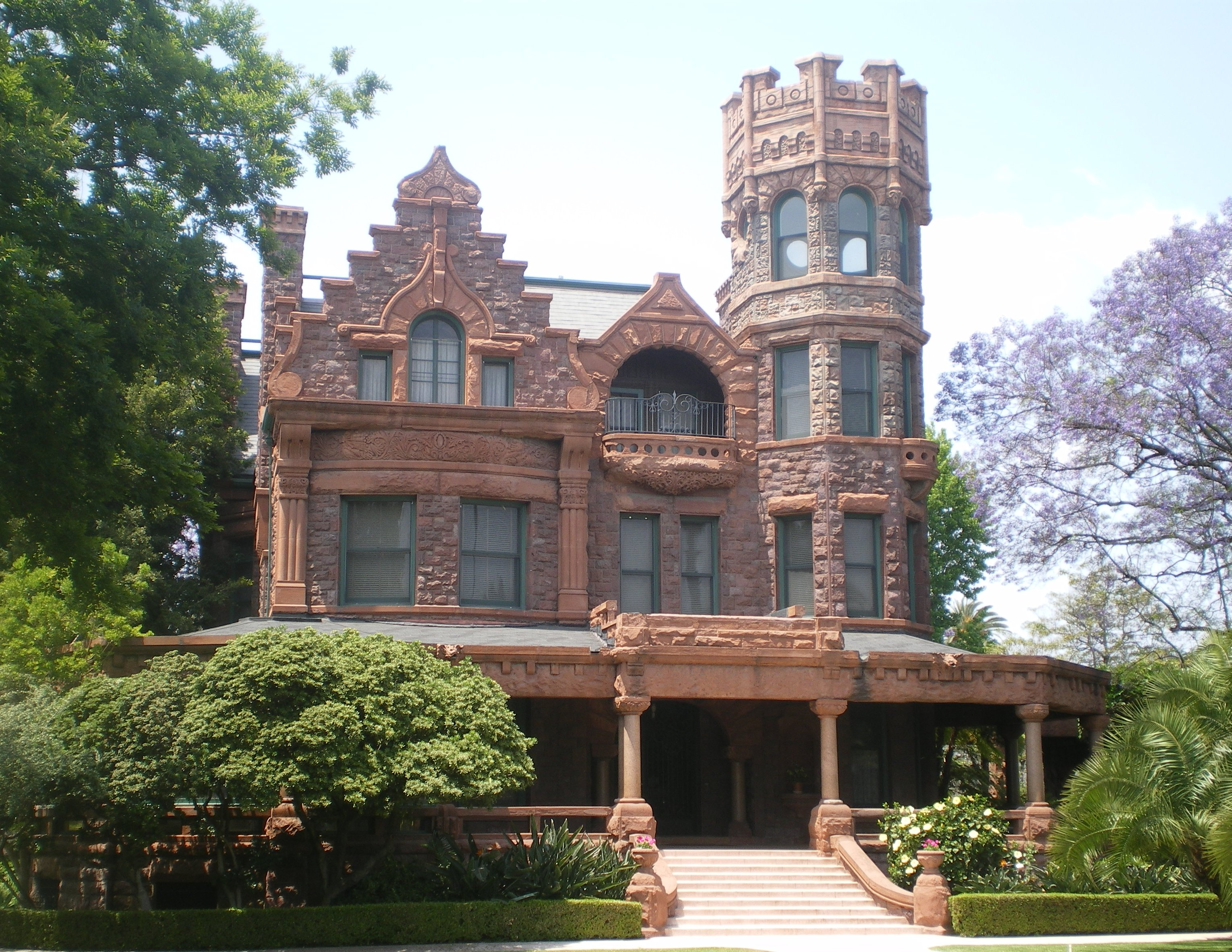 File stimson house los angeles jpg wikipedia for Castle homes