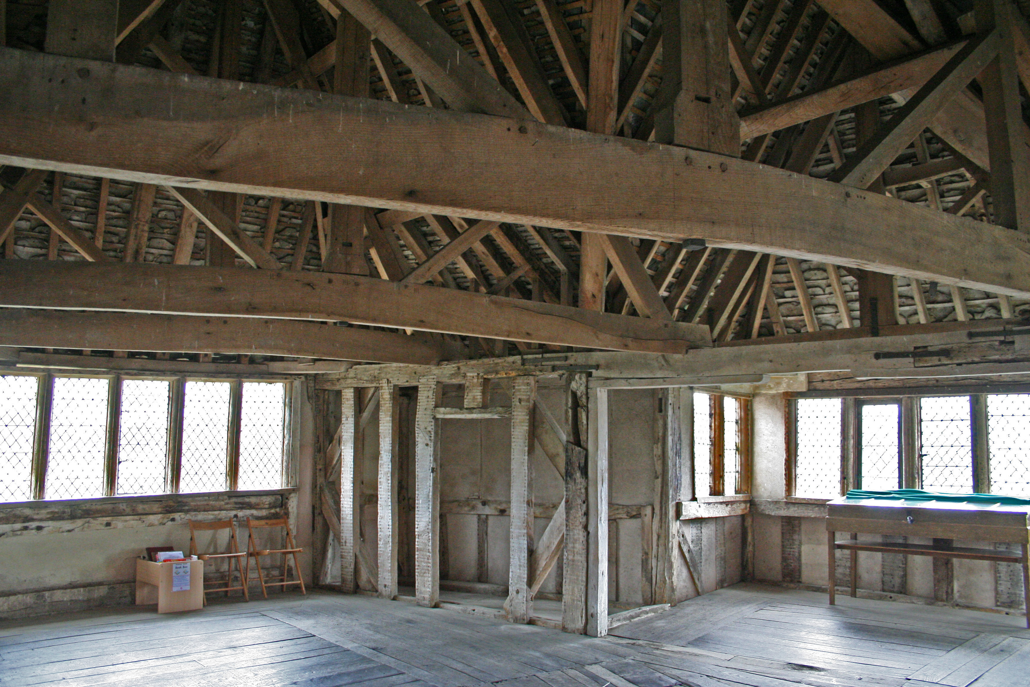 File Stokesay Castle Interior 2006 Jpg Wikimedia Commons