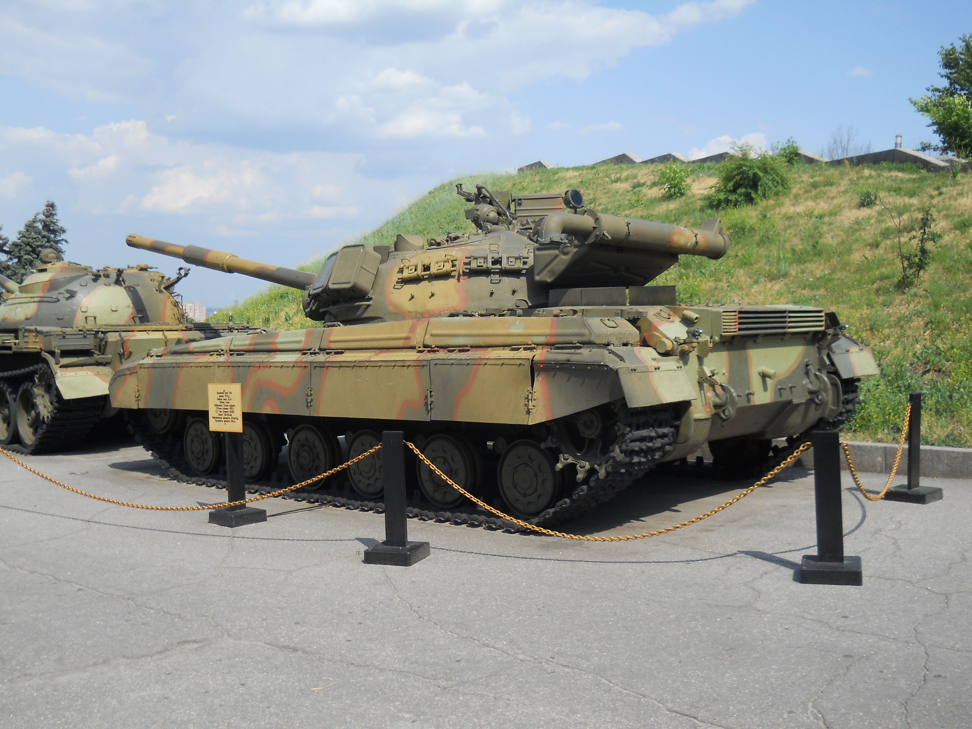 T-64 tank