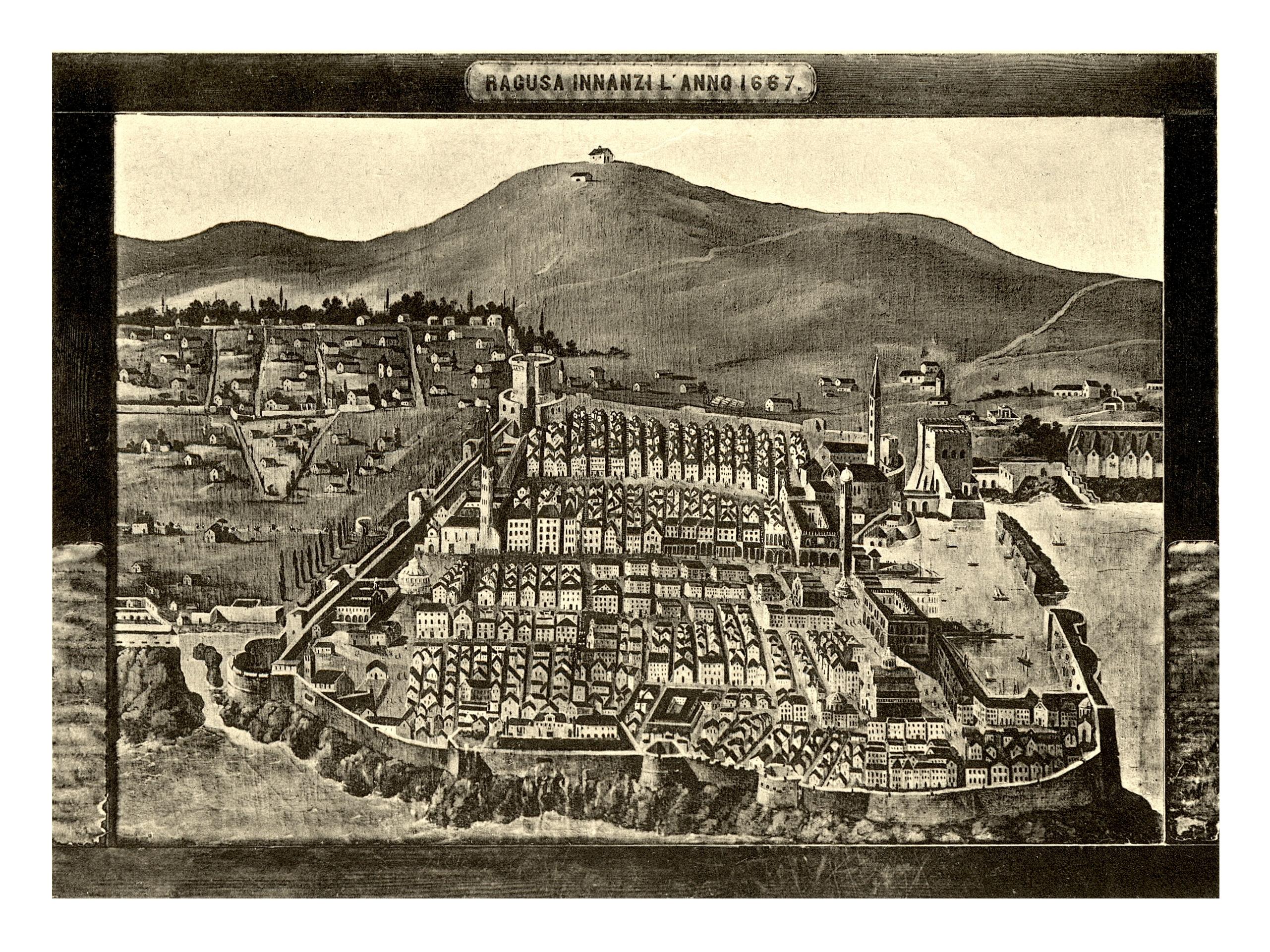 Ragusa prima del 1667