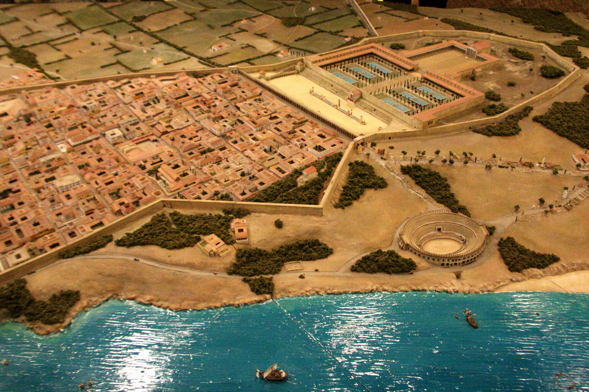 Depiction of Tarraco