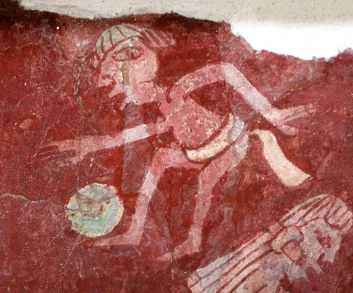 Prähistorischer Fussballspieler: Quelle: WikiCommons