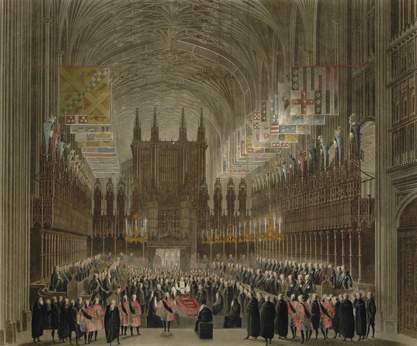 Церемония похорон Ее Королевского Высочества принцессы Шарлотты Уэльсской и Сакс-Кобурга Джеймсом Stephanoff.jpg