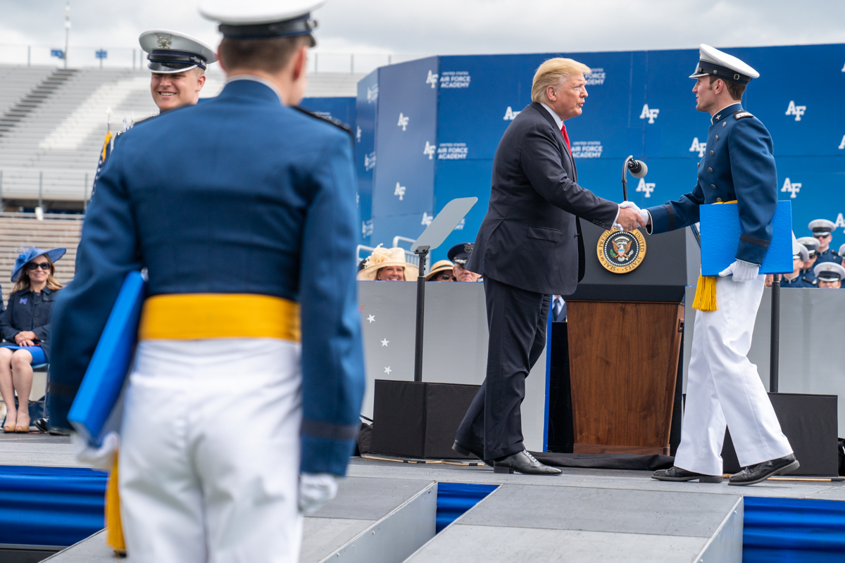 File:The United States Air Force Academy Graduation Ceremony