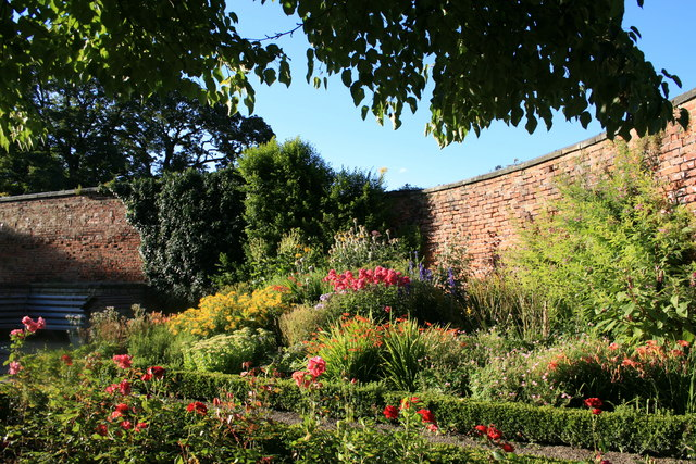 The Walled Garden, Lotherton Hall Estate. - geograph.org.uk - 1002099