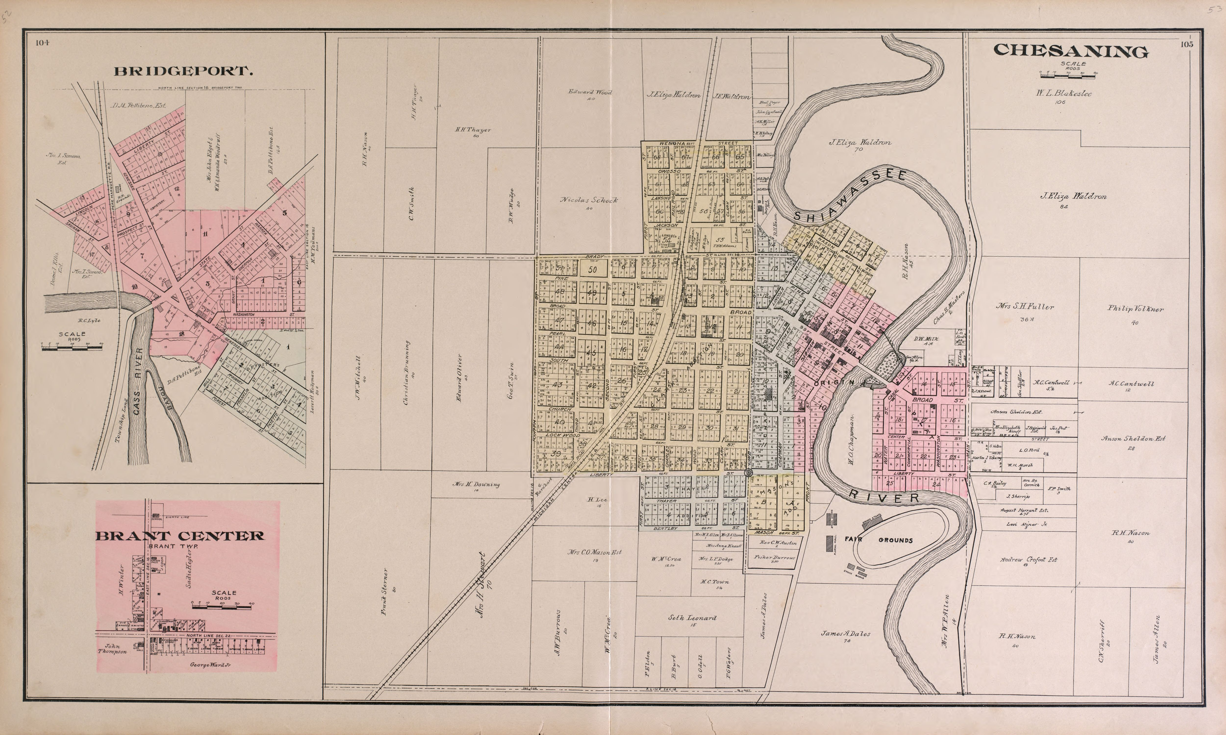 File The County Of Saginaw Michigan Topography History Art