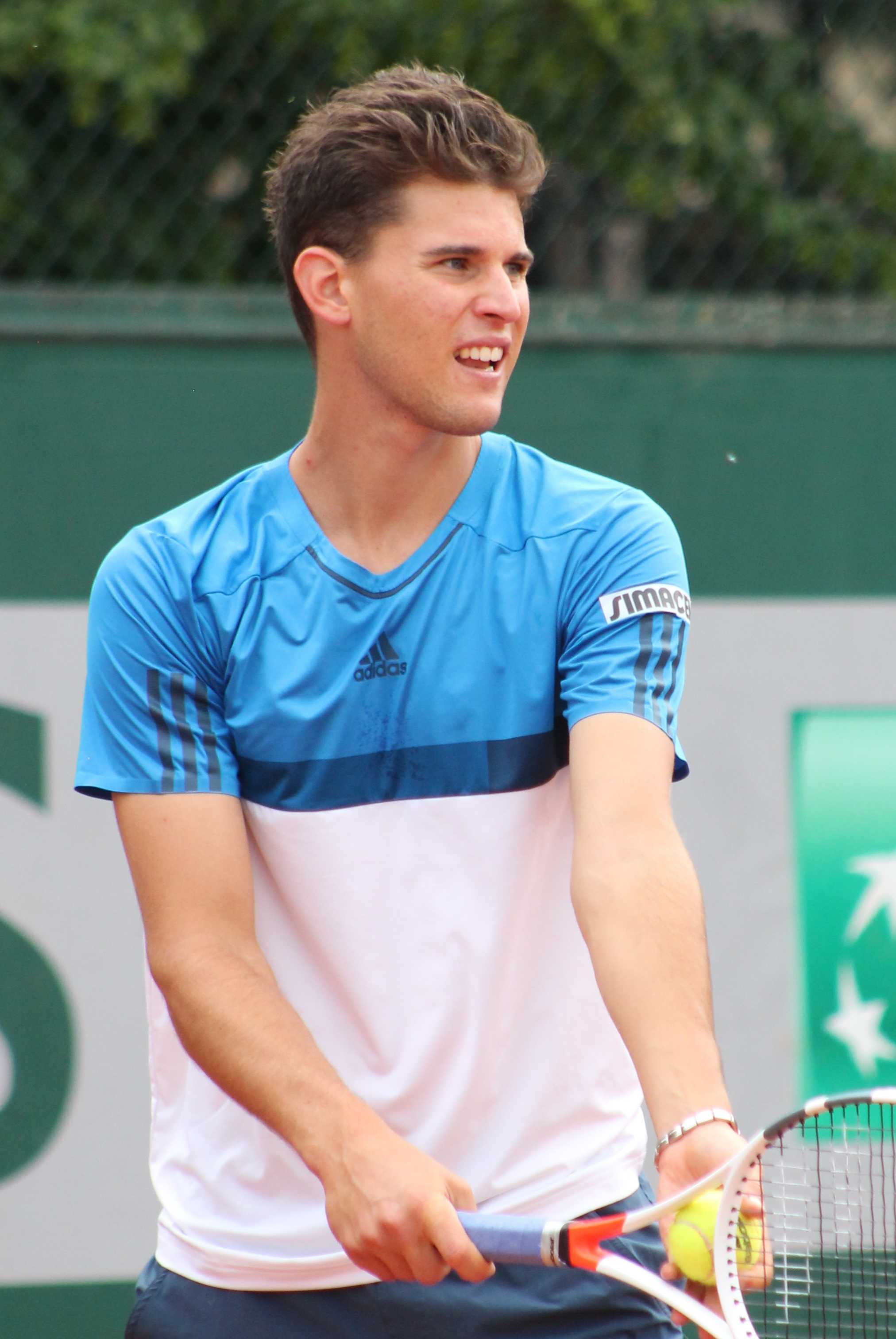Tennisspieler Thiem