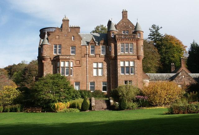 Threave House, Threave Gardens, Castle Douglas - geograph.org.uk - 1592028