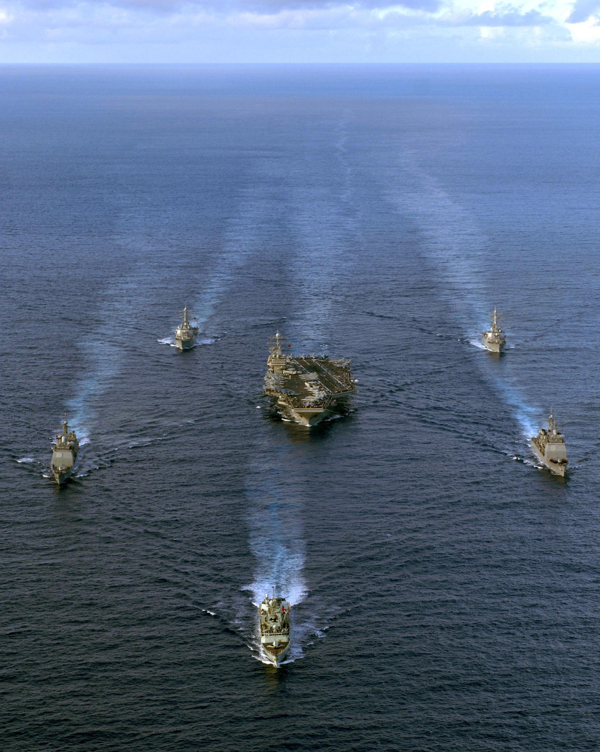 Carrier Strike Group Ten 18