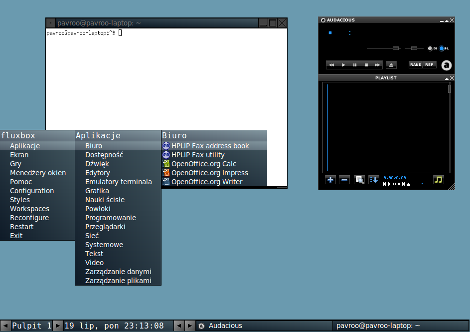 Fluxbox Ubuntu