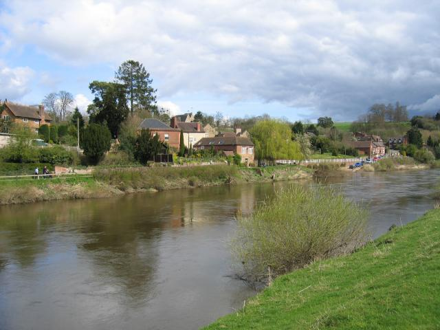 Upper Arley village and the river Severn Photo credit: David Stowell