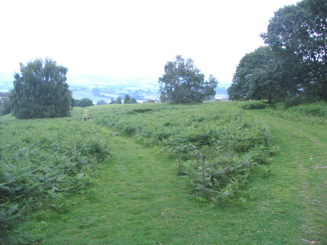 View Southeast from Oaker Coppice - geograph.org.uk - 188158
