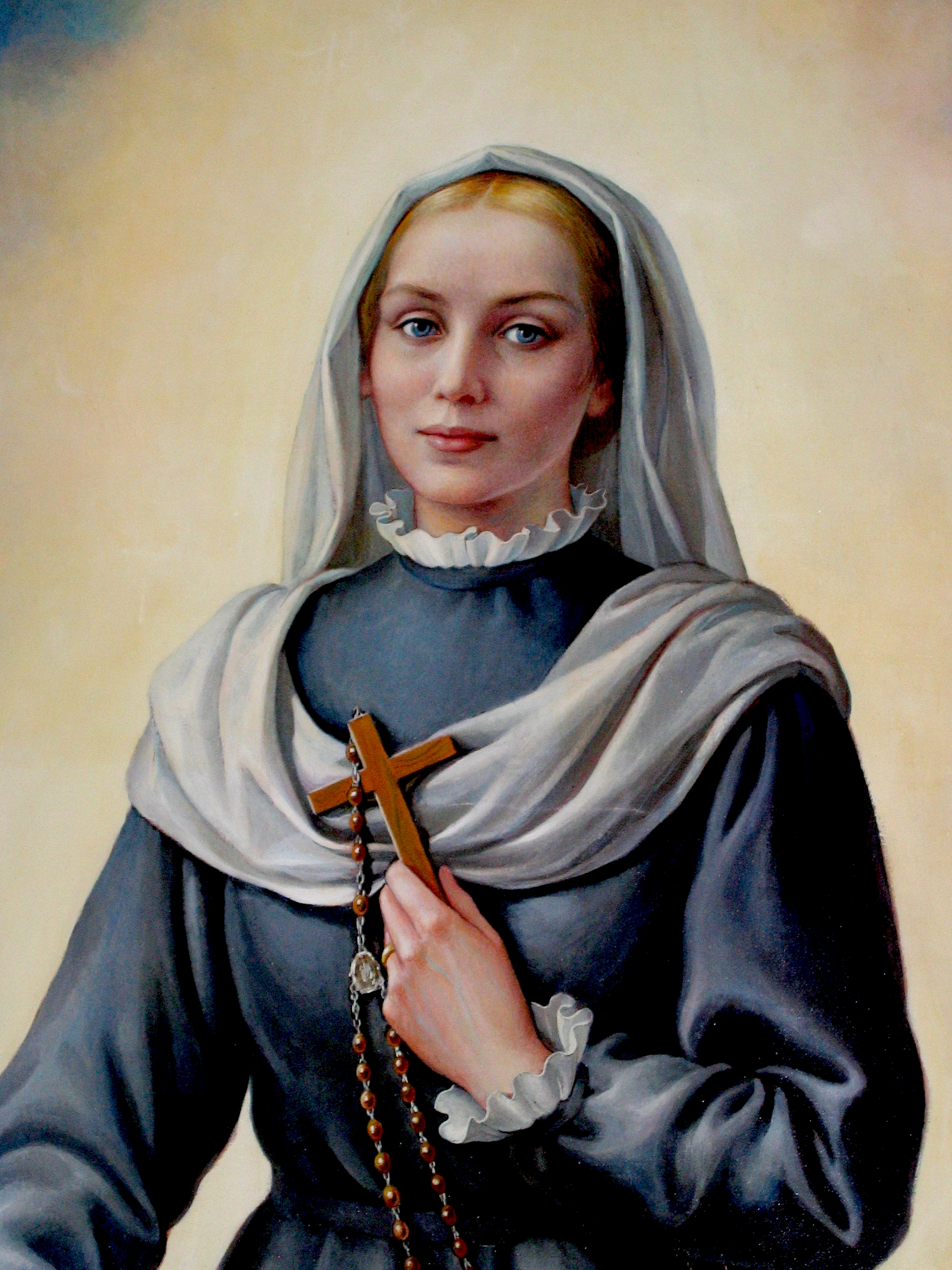 sveta Virginija Centurione Bracelli - vdova in redovnica
