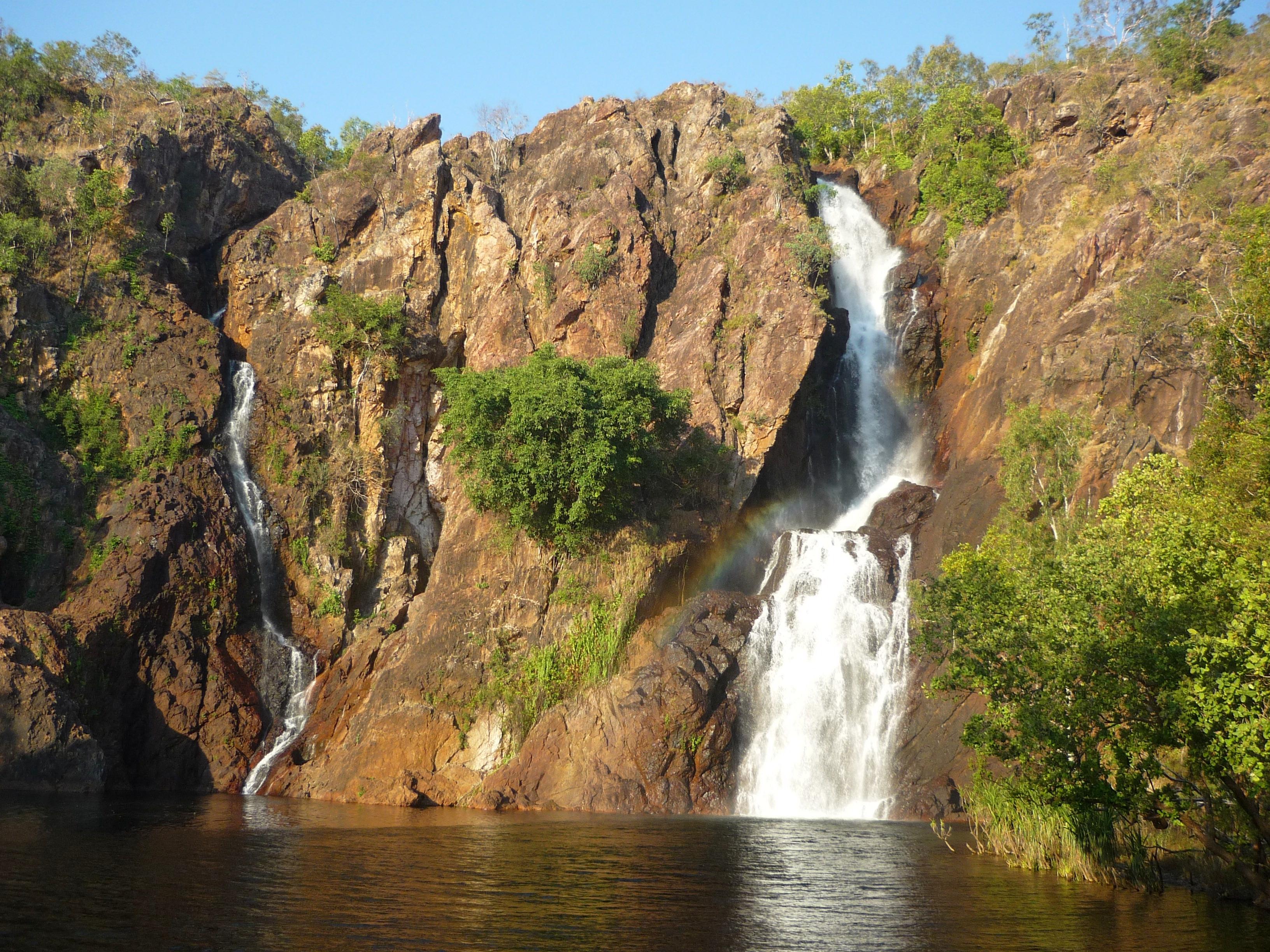 Wangi falls in National park