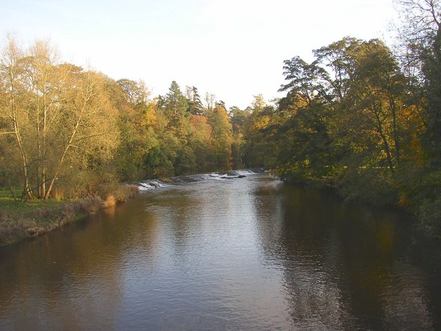 Weir for Bongate Mill, Appleby - geograph.org.uk - 277053
