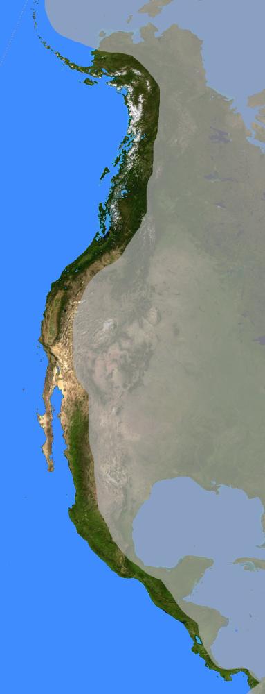 FileWest Coast Of North America Satellite Orthographicpng - North america satellite image