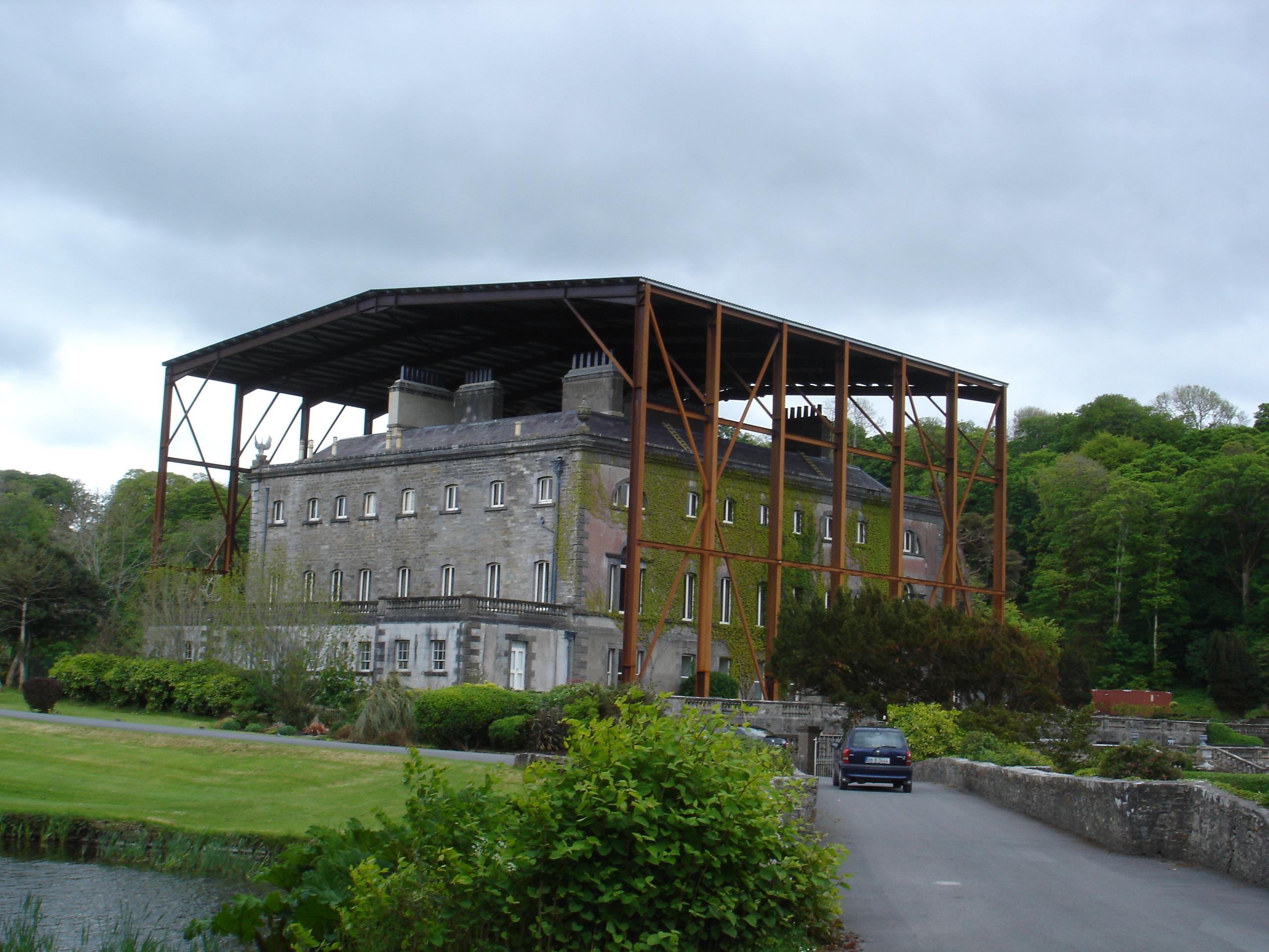 File Westport House Being Repaired County Mayo Jpg