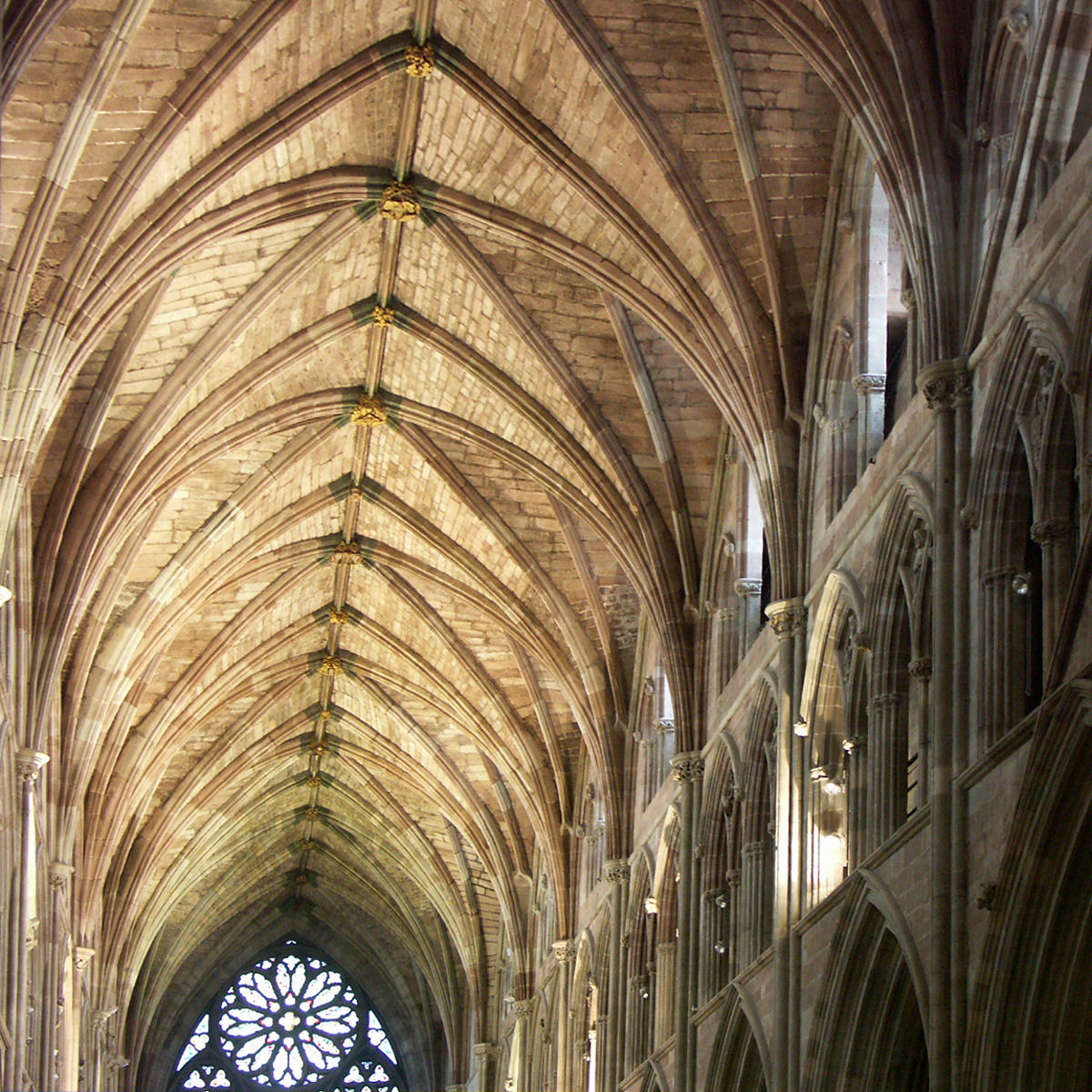 Pointed arch (architecture) - Wikipedia