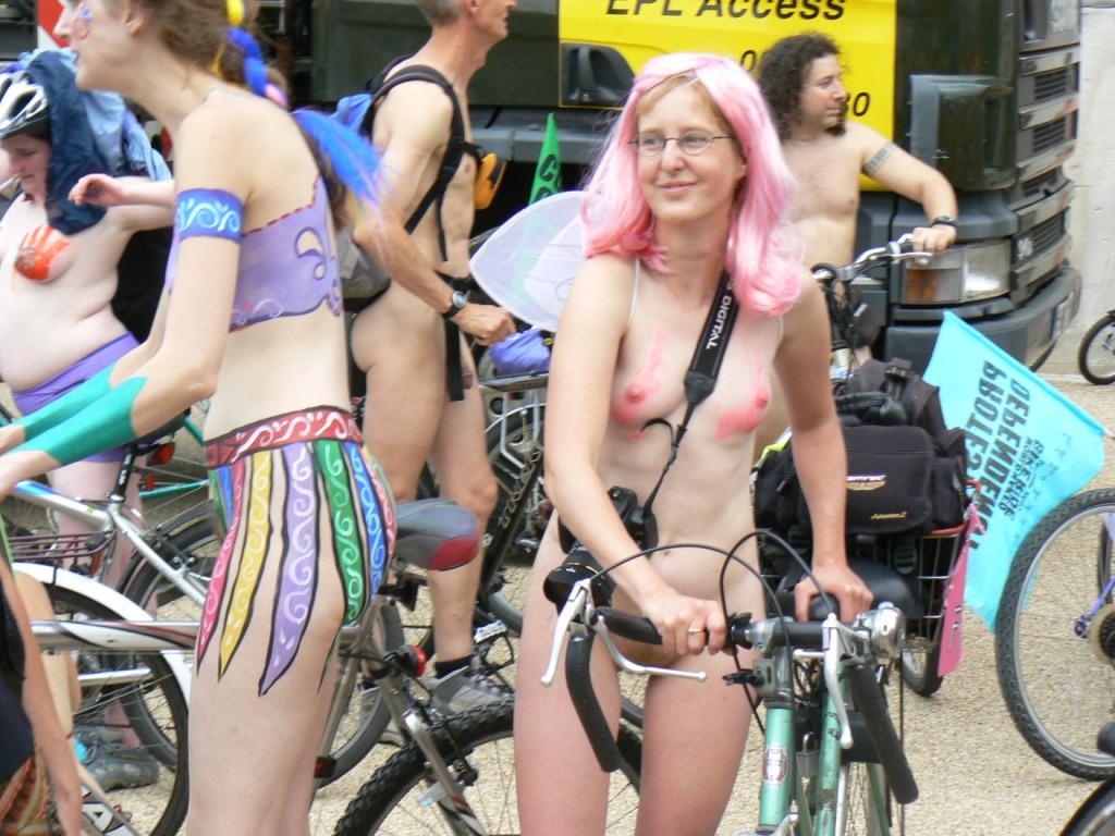 description world naked bike ride