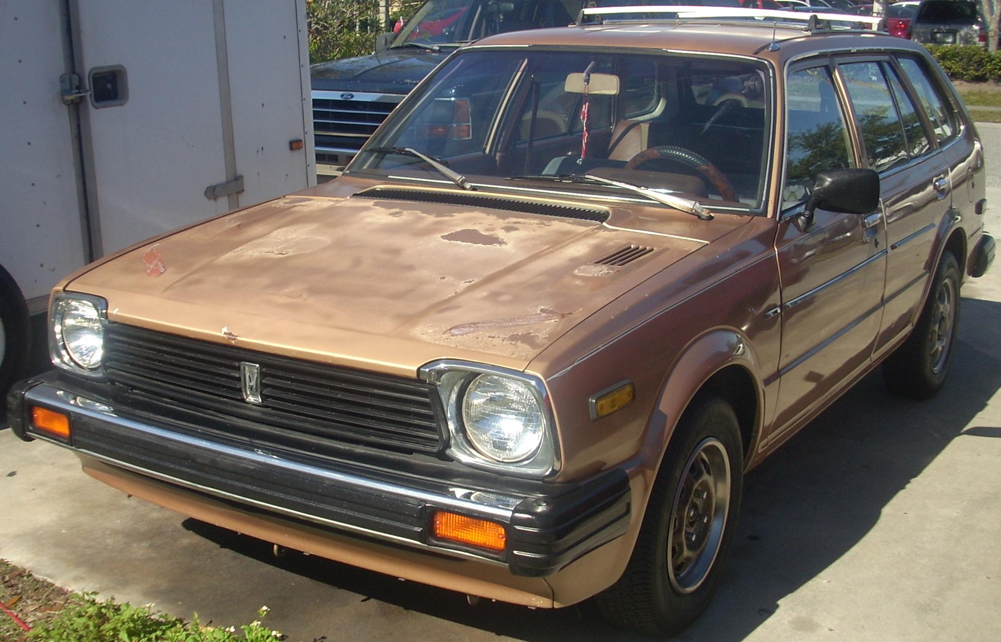 File:'80-'81 Honda Civic Wagon (Front).JPG - Wikimedia Commons