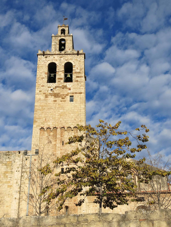 File 014 monestir de sant cugat del vall s campanar jpg - Cugat del valles ...