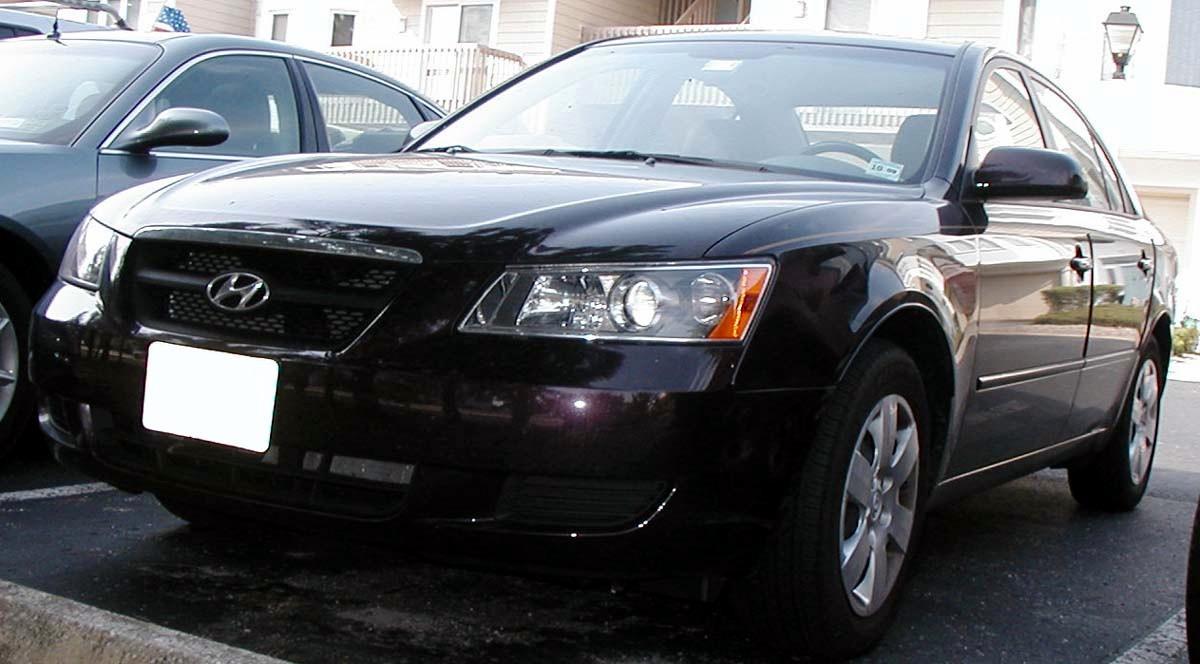 Hyundai sonata 2.4 NF 2005