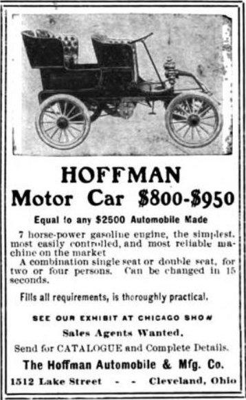 Hoffman Cleveland Automobile Wikipedia