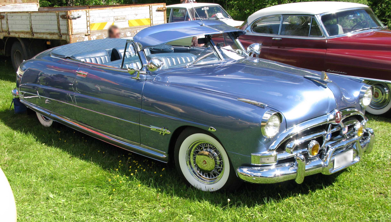Hudson Auto Sales >> File:1951 Hudson Hornet conv.jpg - Wikimedia Commons