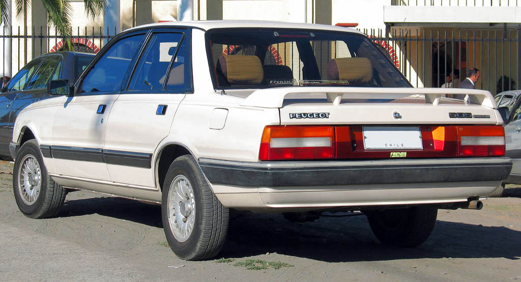 File:1991 Peugeot 505 Evolution.jpg - Wikimedia Commons