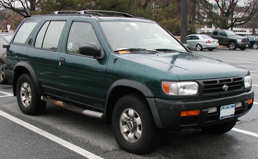 File 1996 1999 Nissan Pathfinder Jpg Wikimedia Commons