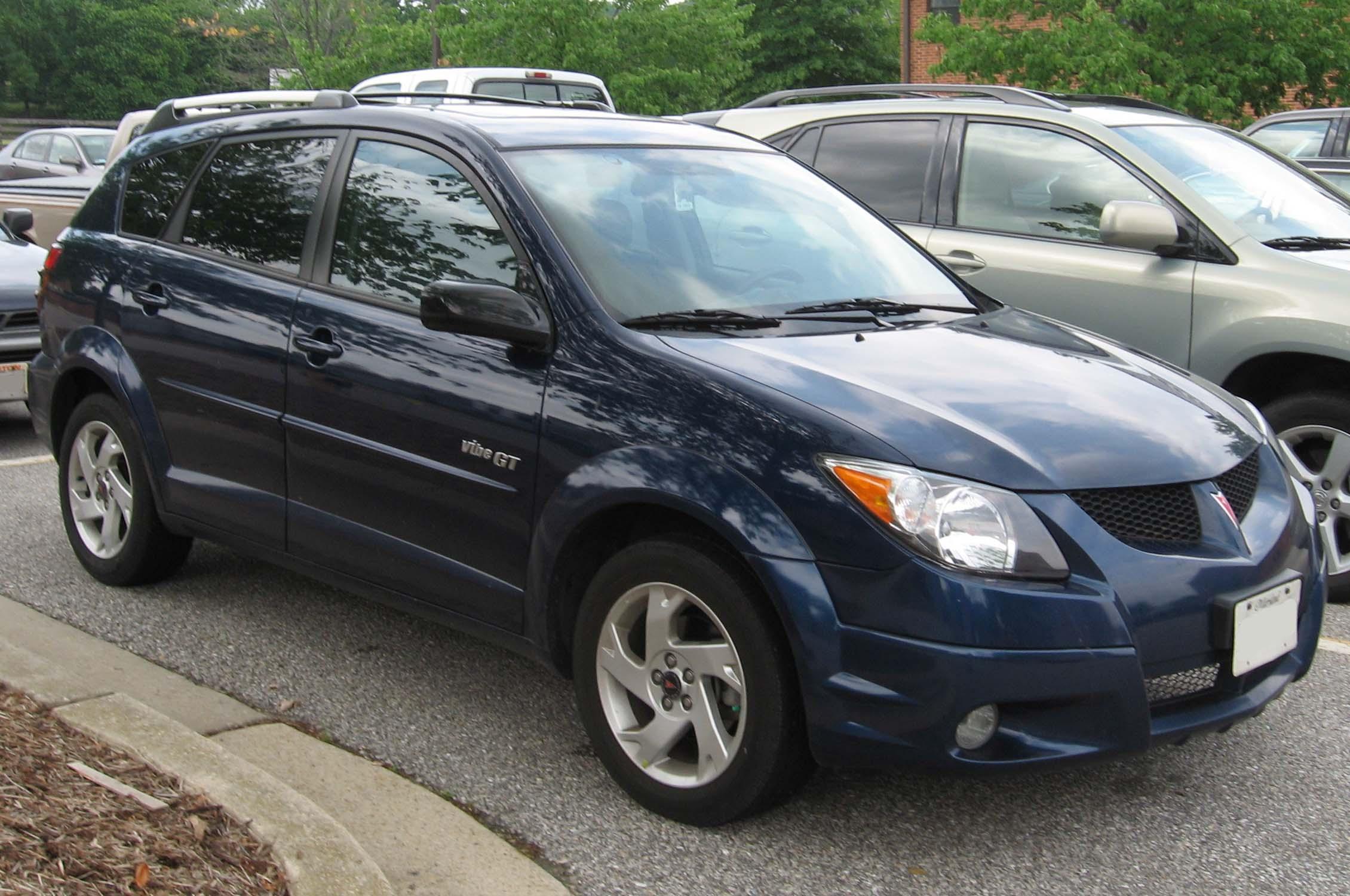 File 2003 04 Pontiac Vibe Gt Jpg Wikimedia Commons