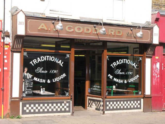 Goddards pie and mash online dating
