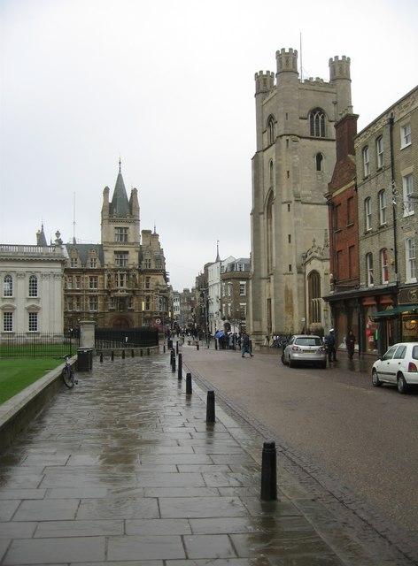 A damp King's Parade - geograph.org.uk - 1131201.jpg