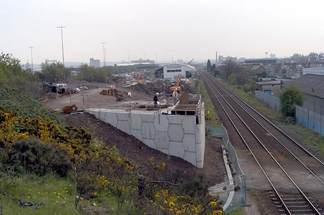 File:A new bridge under construction (1) - geograph.org.uk - 346038.jpg