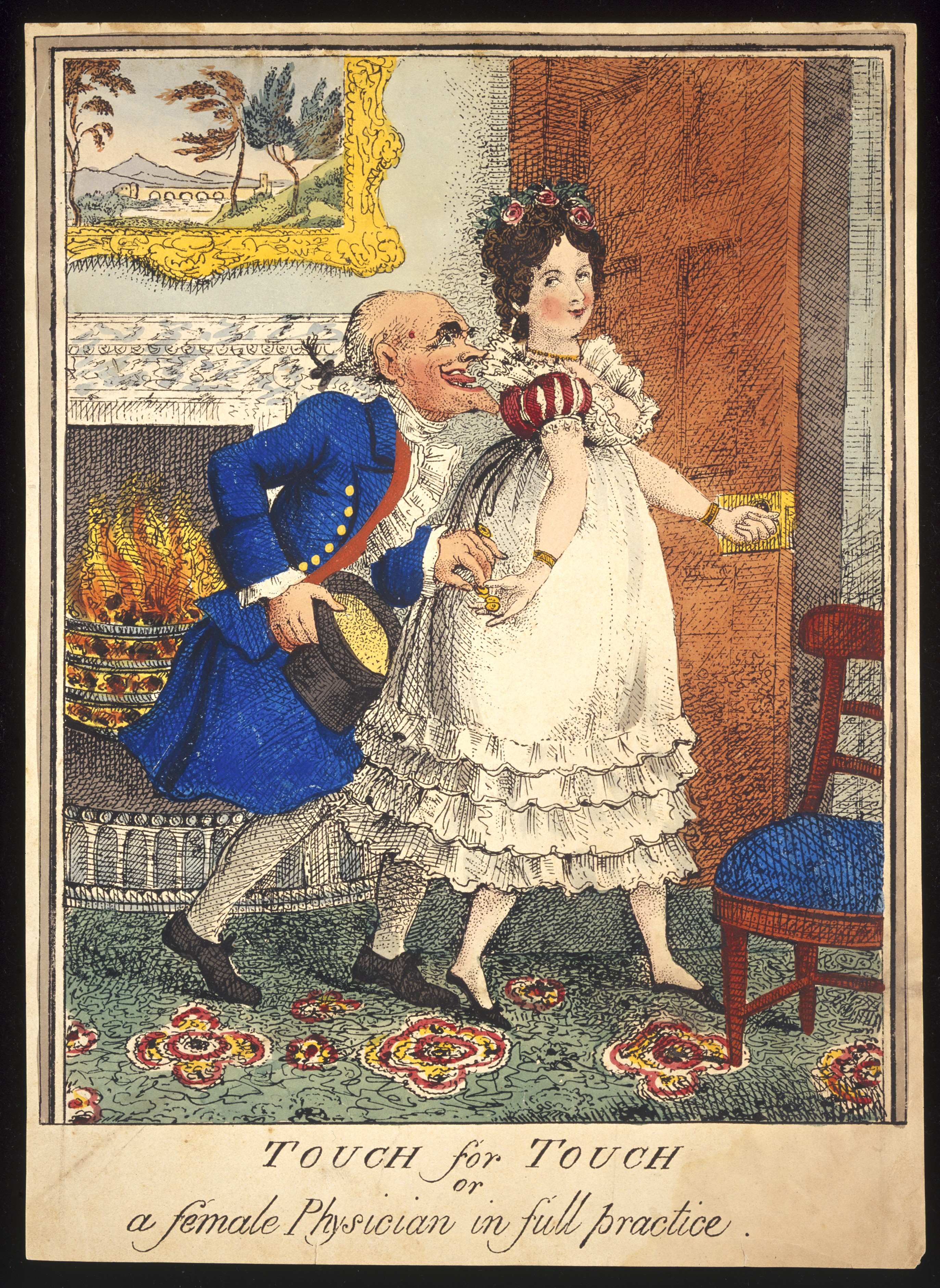 File:A prostitute leading an old man into the bedroom Wellcome ...