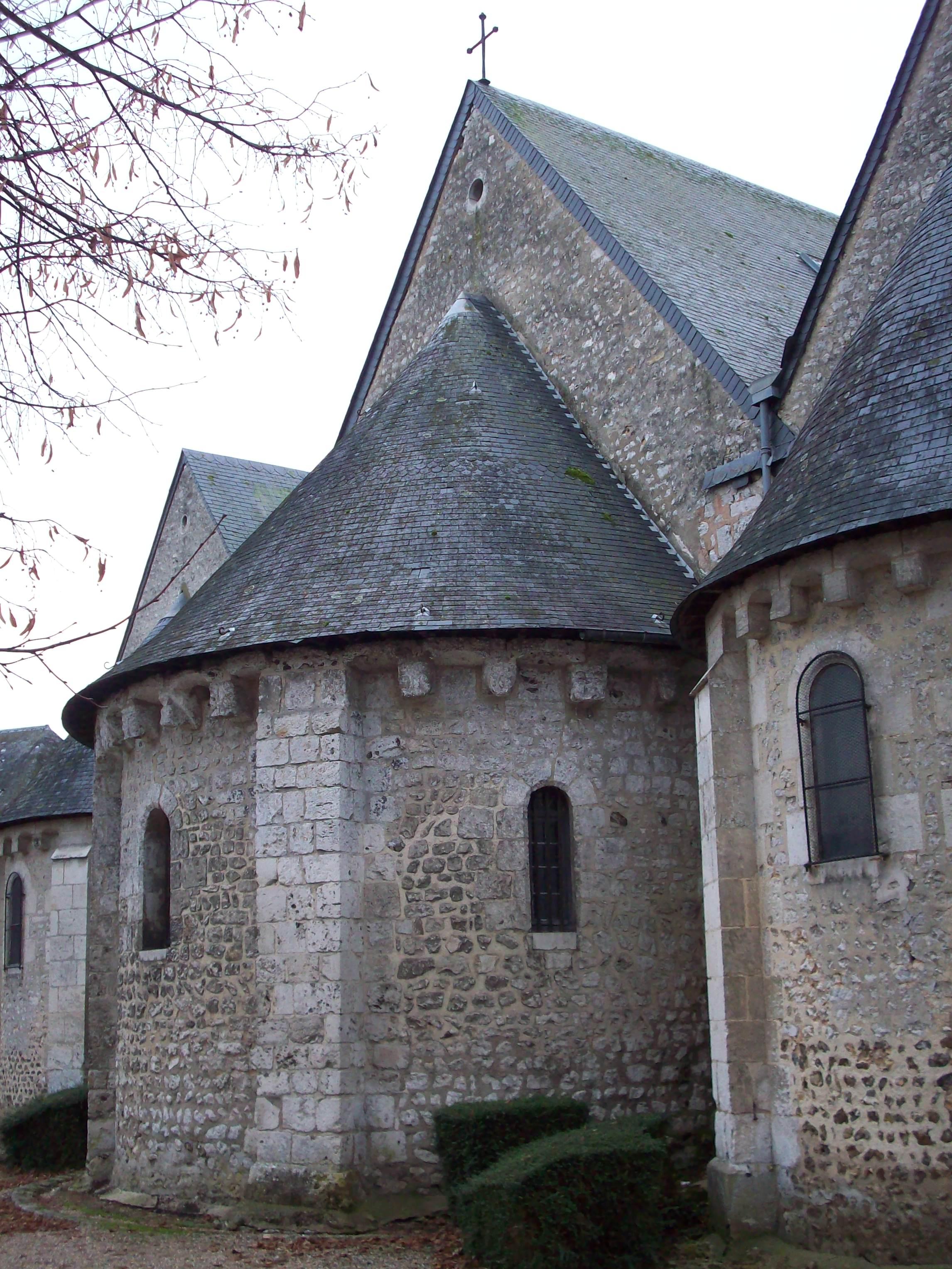 File abside de l 39 glise de pont saint pierre jpg - Piscine pont st pierre 27 ...