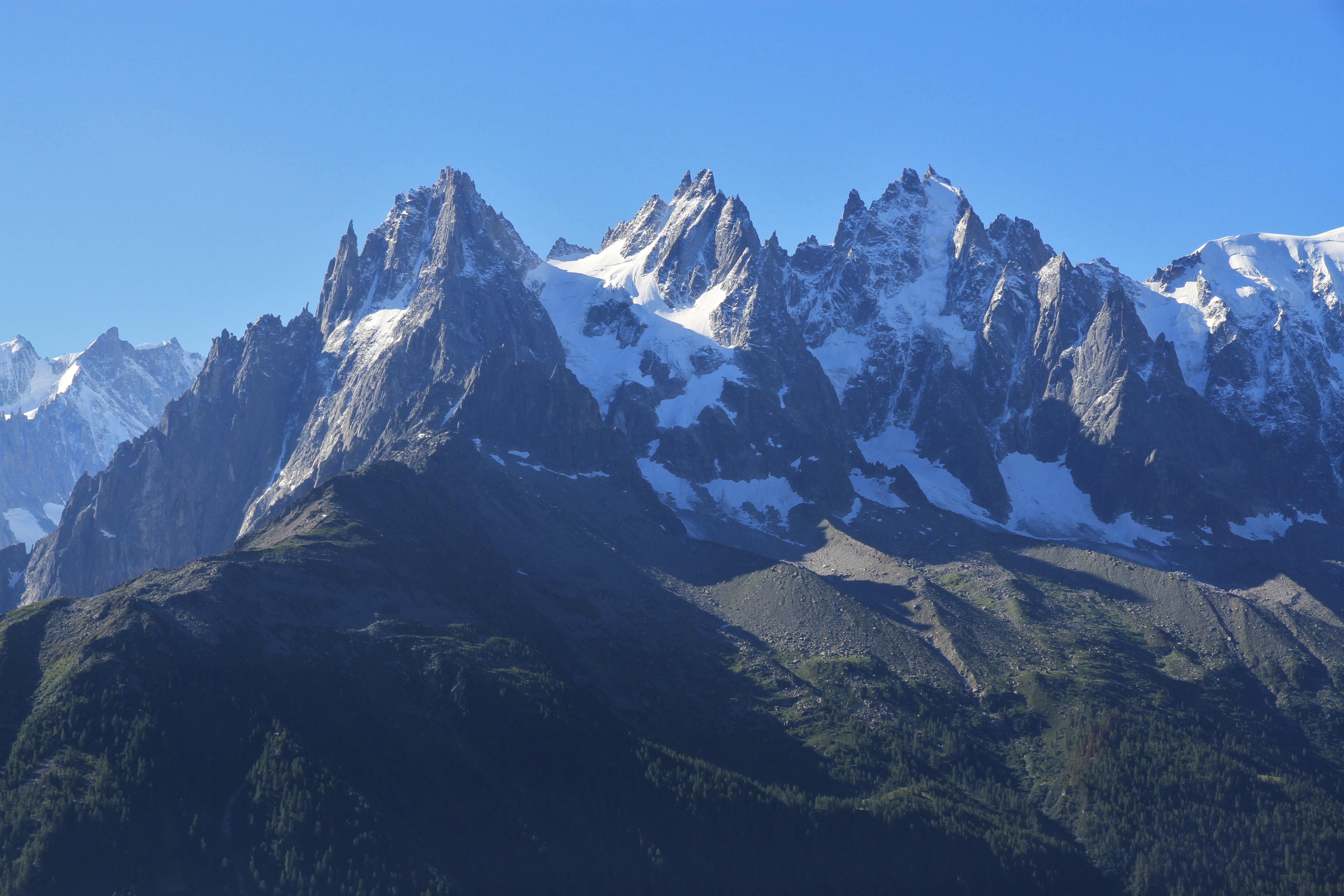 Van dors fin19 d but20 si cle paysage montagne chamonix tableau peinture huile ebay - Au bout de l aiguille ...