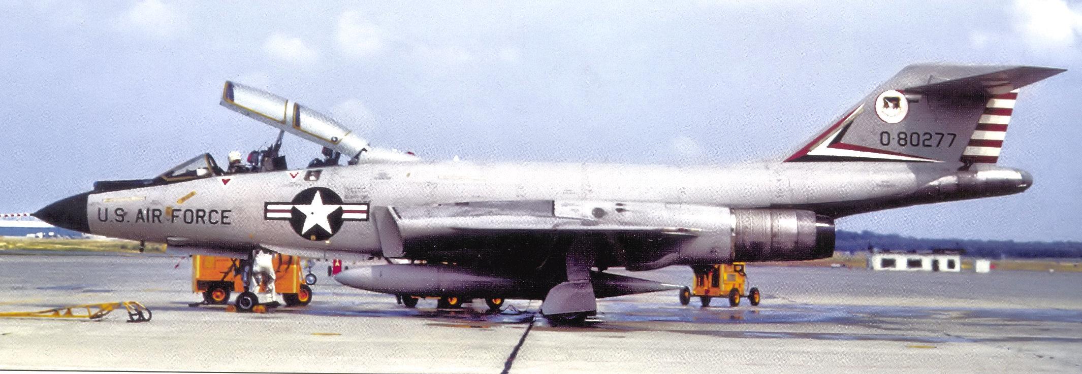 Description air defense weapons center f 101f 57 277 1972