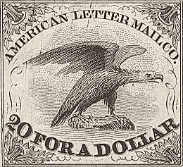 American Letter Mail Company Defunct US company (1844–1851)