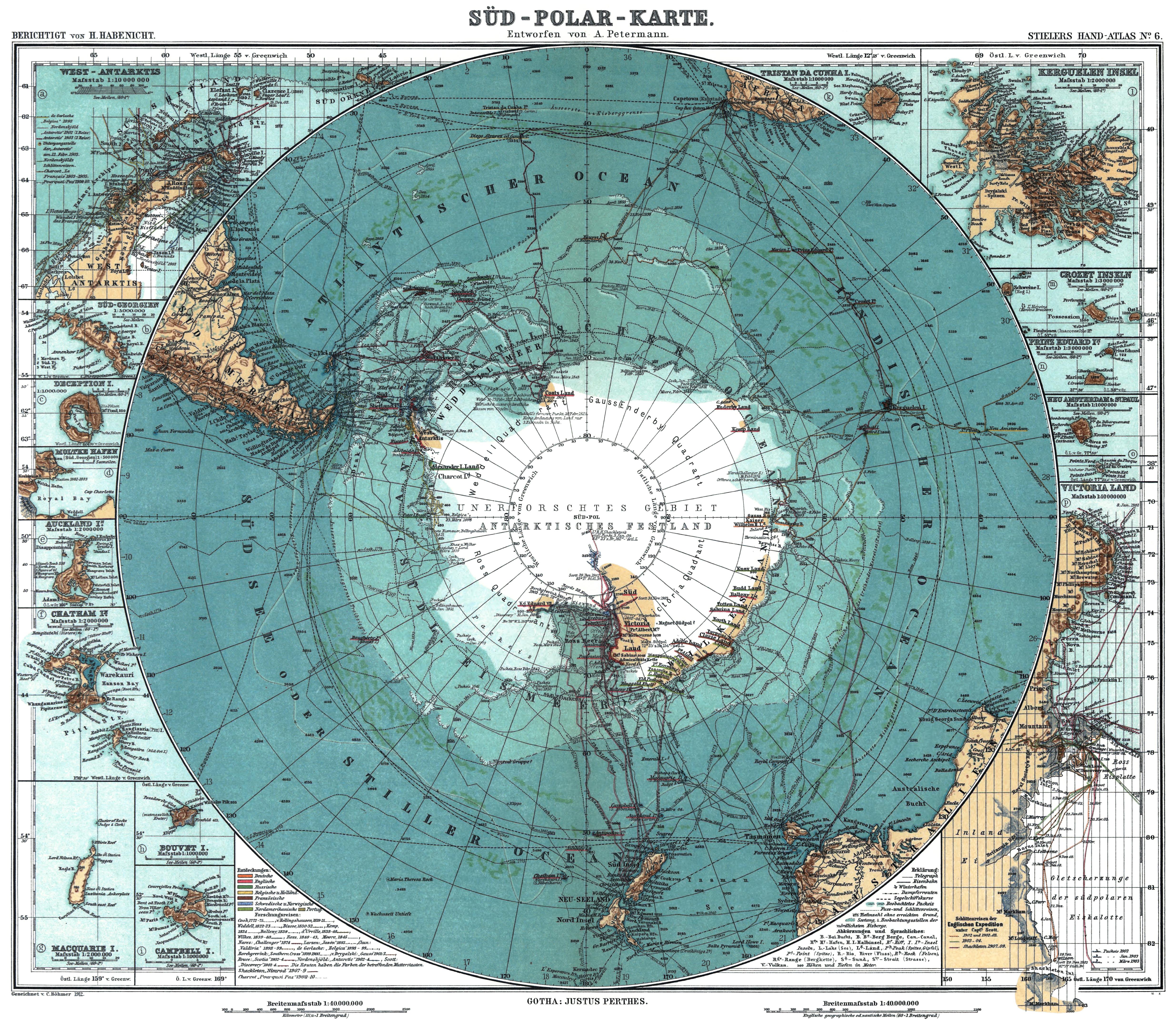 Beschrijving antarctica 1912 edit