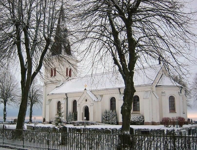 Bild av Appuna kyrka