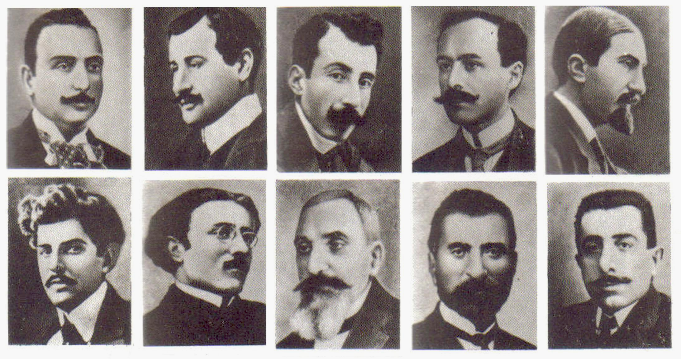 Deportation of Armenian intellectuals on 24 April 1915