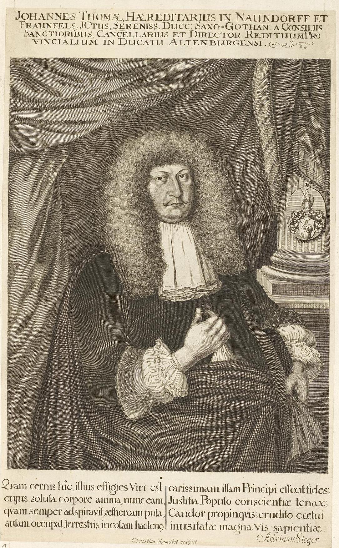 Johann Thomasius – Wikipedia