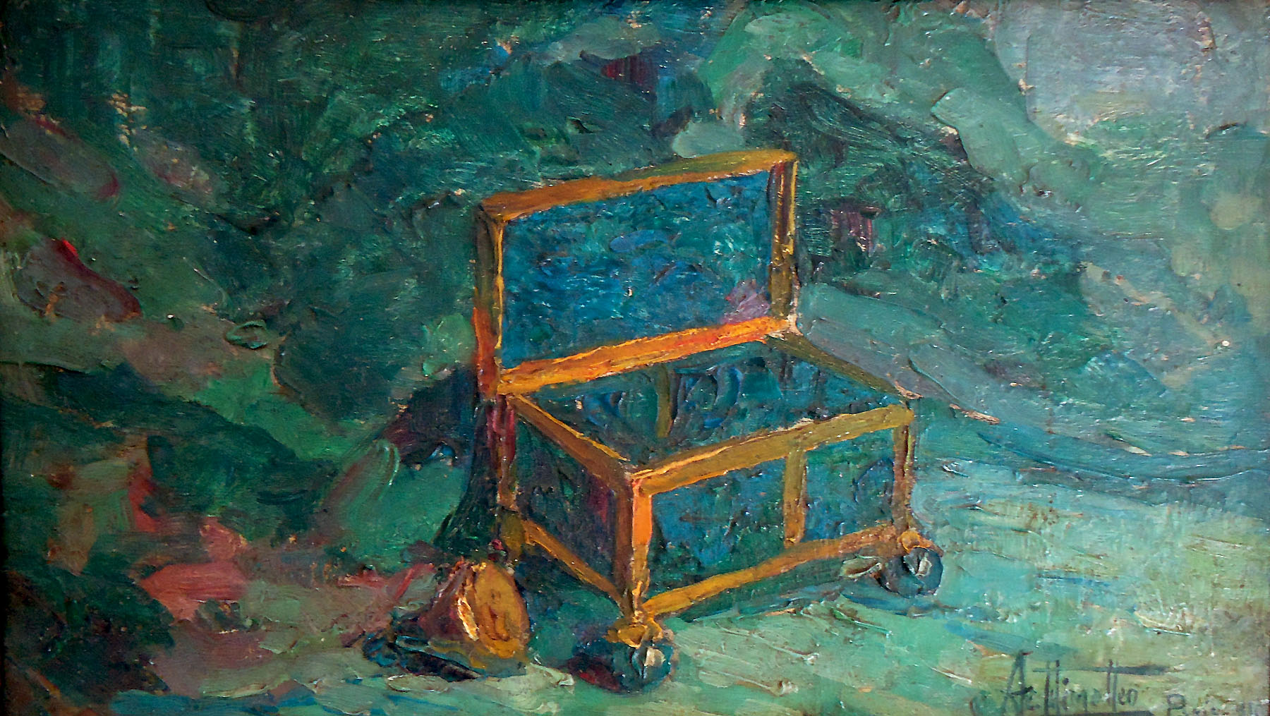 File:Arthur Timotheo da Costa, Blue box with golden ring, 15,7 x 23 ...