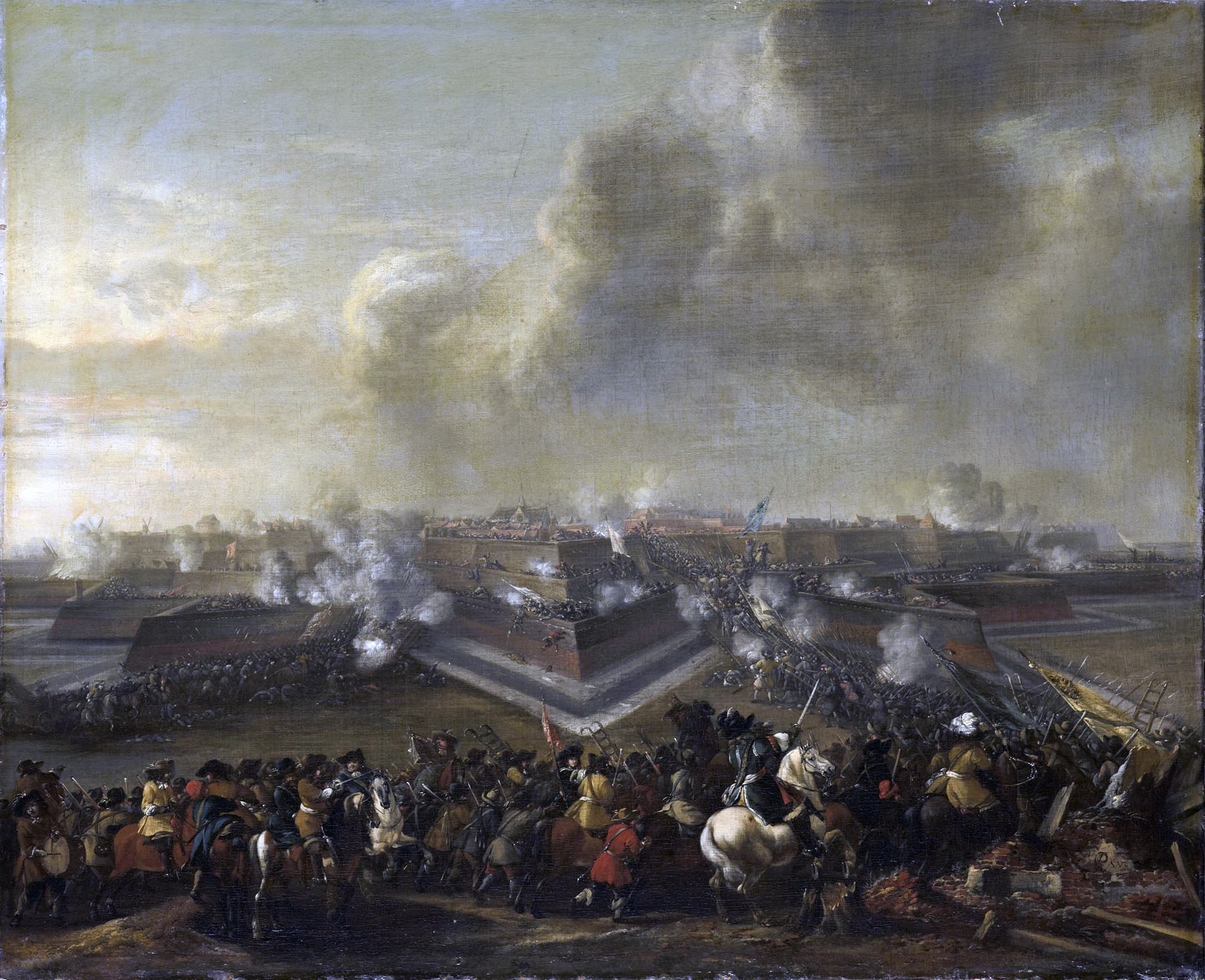 File:Assault on Coevorden in 1672 - De bestorming van Coevorden, 30  december 1672