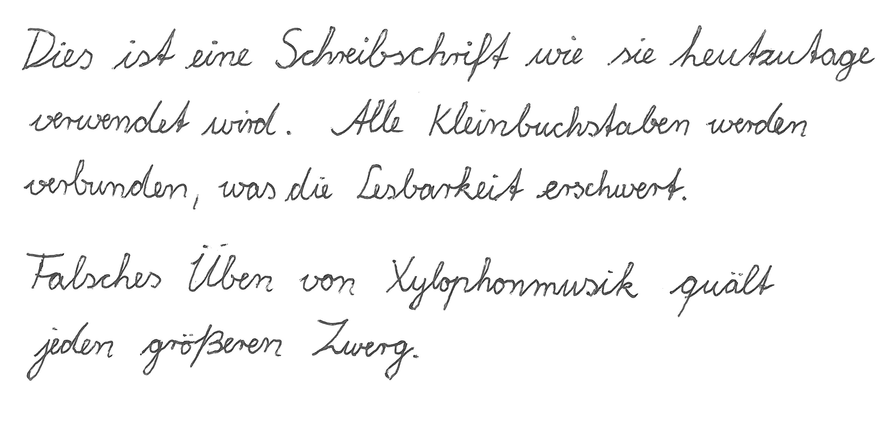 schulausgangsschrift